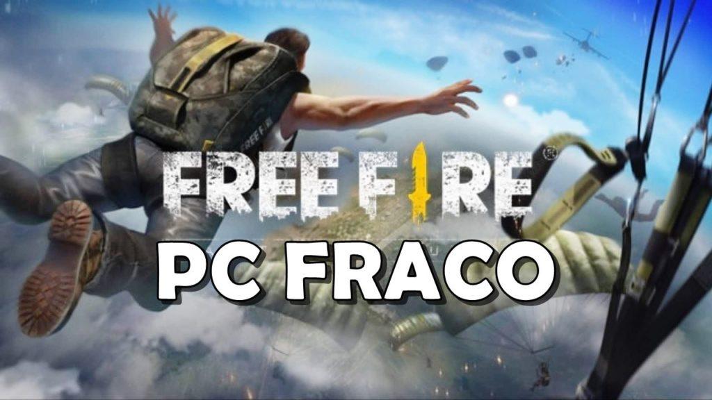Como jogar Free Fire em PC fraco?