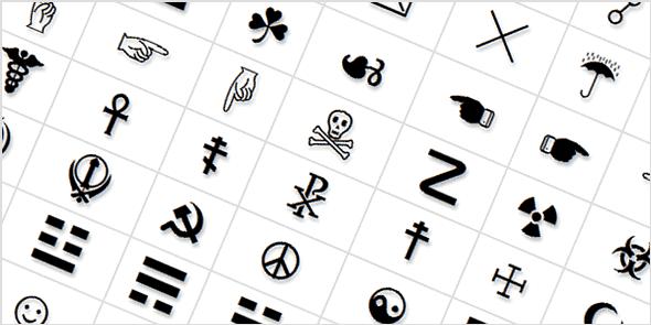 Símbolos para Nick FF - Letras diferentes para nick no Free Fire